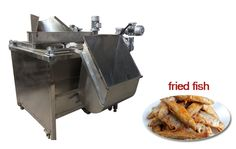 Fish Stick Frying Machine http://www.fried-machinery.com/products/meat-fryer/fish-fryer.html