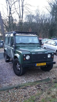 Land Rover Defender 110 Td5 Sw Se County at Burgers Zoo