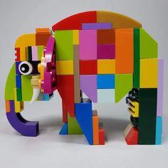 Lego Math, Lego Games, Lego Duplo, Lego Animals, Animals For Kids, Lego Tree, Montessori Activities, Space Activities, Lego Challenge