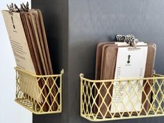 Clipboard menu storage!? GALLERY | Dear | http://cafecorners.blogspot.com