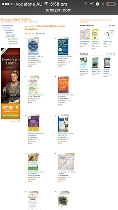 I Am AspienGirl book is number eight bestseller on Amazon on USA!