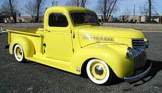 1941 Chevy truck Yellow, yuck. Just sayin'