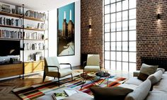 An artist's impression of a flat in Battersea power station. Photograph: Battersea Power Station Development Company/PA