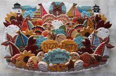 Bridgehampton Summer Platter | by cookieartisan