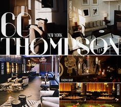 Where to Stay: New York: 60 Thompson Hotel