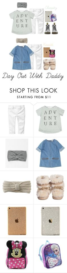 """""""Staying over Daddy's today while Mommy has business meeting."""" by yourfavetwins ❤ liked on Polyvore featuring Gap, Dr. Martens, Aéropostale, Disney, women's clothing, women's fashion, women, female, woman and misses"""