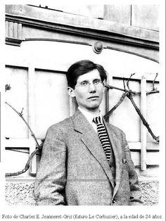Le Corbusier con 24 años