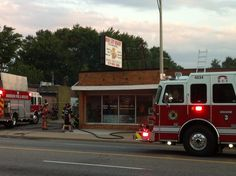 Fire At Rose City Bakery (Gallery)
