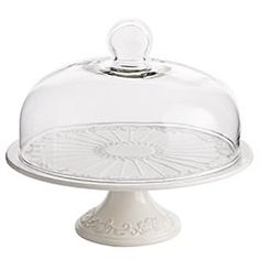 i've wanted a cake stand w/ cover for ... as long as i can remember! <3.