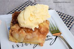 Old-Fashioned Pear Brown Betty -