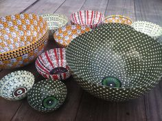 The FOLKofLONDON - papier mache bowl collection.Available soon.