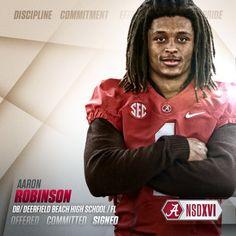 Alabama 2016 commit DB Aaron Robinson #BamaNSD2016  #Alabama #RollTide #BuiltByBama #Bama #BamaNation #CrimsonTide #RTR #Tide #RammerJammer