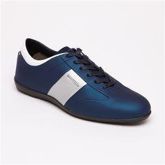 Schuhe NEW YORK  dunkelblau und silberfarben von PORSCHE DESIGN