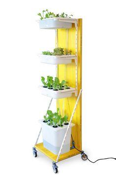 Build A Hydroponic Indoor Garden From Ikea Parts Indoor Indoor