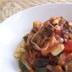 Gegrilltes Gemüse mit Couscous @ de.allrecipes.com