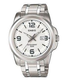 74e3ddf5fc5 WW0362 Original Casio Enticer Date Watch MTP-1314D-7AV Warranty  12 Months  Call