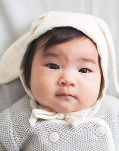 EllieFunDay Organic Bunny Bonnet