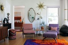 Megan & Todd's Colorful Pad in Asheville