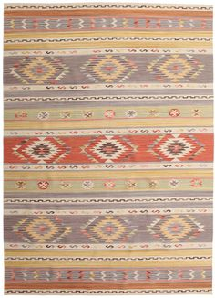 Kilim rugs are mainly woven by nomads using the traditional Kilim technique. Kilim Rugs, Modern, Bohemian Rug, Weaving, Beige, Home Decor, Carpets, Pacific Northwest, Bedroom
