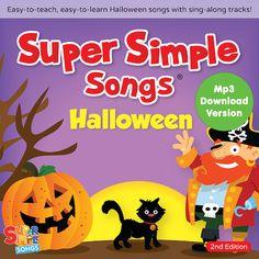 #Halloween Songs - Super Simple Songs #songsforteaching