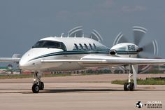 These days, it's unusual to see an active Beech Starship, and with only five left out of the 53 manufactured, they are now spread very thinly across the USA. Aviation Magazine, Air Machine, Aviation Image, Aircraft Design, Private Jet, Radio Control, Military Aircraft, Jets, Luxury Cars