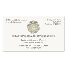 Blue Lotus Holistic Alternative Appointment Card Business Card Template. Make your own business card with this great design. All you need is to add your info to this template. Click the image to try it out!