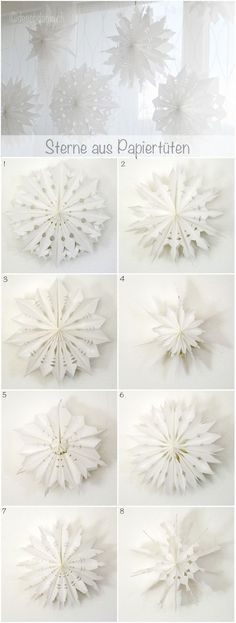 70 Christmas Star Decoration Paper 2020 Check more at www.adweekbrandge … - New Deko Sites Winter Christmas, Christmas Time, Christmas Crafts, Xmas, Christmas Star Decorations, Thanksgiving Decorations, Snowflake Silhouette, Diy And Crafts, Paper Crafts