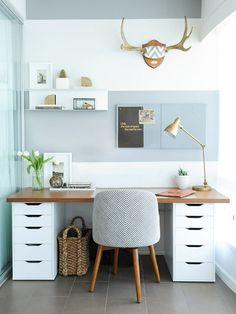Schreibtisch Ikea Selbst Zusammenstellen Nazarm Ebenbild Schreib