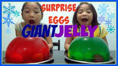 GROSS GIANT JELLY MASHING CHALLENGE Surprise Eggs Toys Real Elsa and Ann... Jelly, Ann, Eggs, Challenges, Videos, Youtube, Egg, Youtubers, Jelly Beans