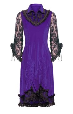 The Violet Vixen - Lady Laced Wings Purple Dress, $108.00 (http://thevioletvixen.com/clothing/lady-laced-wings-purple-dress/)