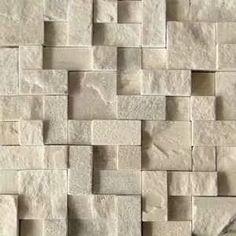 Revestimento de parede externa em pedra pormenores for Mosaico adesivo 3d