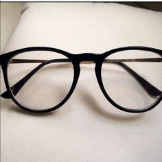 fb436caa5d Shop Women  Black Gold size OS Glasses at a discounted price at Poshmark.  Description  Oversized glasses - super cute and on trend. Plastic frame  with gold ...
