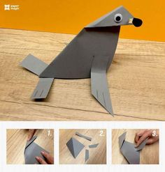paper monk seal craft « Preschool and Homeschool Seal Crafts For Kids, Diy Crafts For Girls, Sea Crafts, Paper Crafts For Kids, Summer Crafts, Diy For Kids, Paper Animal Crafts, Ocean Animal Crafts, Animal Crafts For Kids