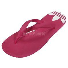 ba4a2ccc0a734 Adidas Adisun W Pink White Originals Flip-Flops Womens Slide Slippers  http