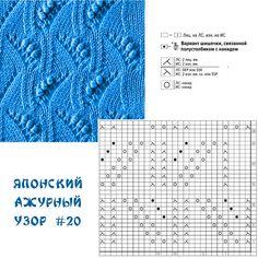 Knitting Stitches, Knitting Patterns, Vash, Crochet Yarn, Yandex, Periodic Table, Diagram, Words, Blue