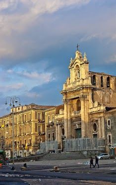 Catania, Italy! We live 20 min from here! Love going to the markets and having lunch here.   Awesome experience!!