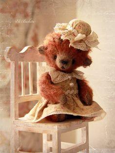 Little Vivien vintage style teddy bear ❤️ Eli Bichita