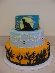 Halloween cake; Susie Cakes