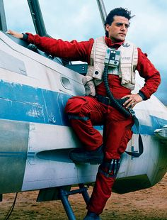 Oscar Isaac as Poe Dameron for the Vanity Fair June 2015 issue, photographed by Annie Leibovitz