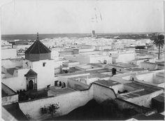 Rabat  Vue générale des toits de la ville  1916