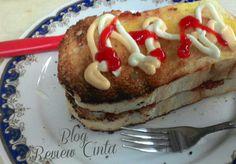 Roti Bakar Kornet isi Mayonaise