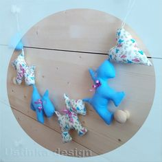 Cute Blue and Floral Scottie Dog Garland by Ustinkadesign on Etsy Dog Lover Gifts, Dog Lovers, Birthday Garland, West Highland Terrier, Dog Birthday, Scottie Dog, Fabric Decor, Dog Design, Dog Art