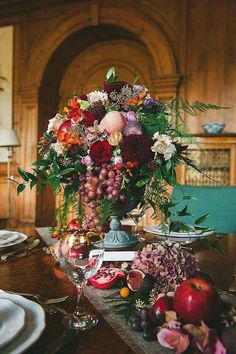 Over the top tablescape