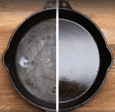 Epic and easy cleaning hacks, tips, and tricks you will find handy. Season Cast Iron Skillet, Cast Iron Skillet Cooking, Iron Skillet Recipes, Cast Iron Recipes, Skillet Meals, Cast Iron Skillet Burgers, Cooking With Cast Iron, Skillet Pan, Cast Iron Care