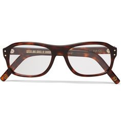 3baff6359c Kingsman - + Cutler and Gross Square-Frame Tortoiseshell Acetate Optical  Glasses Kingsman Glasses