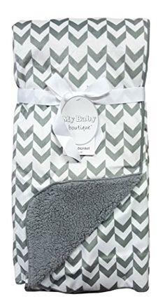 "Baby Blanket Luxuriously Soft 30""x40"" Fleece 2 Layers (Chevron/Gray) My Baby Boutique http://www.amazon.com/dp/B01D8VA70U/ref=cm_sw_r_pi_dp_vPx8wb00VRZR8"