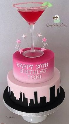 Image result for women's 30th birthday cake ideas