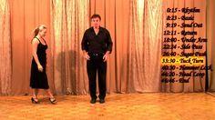"""West Coast Swing - Beginning Level""  45 minute beginner Westie video"