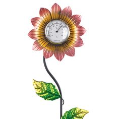 Floral Garden Decorative Thermometer only $24.99