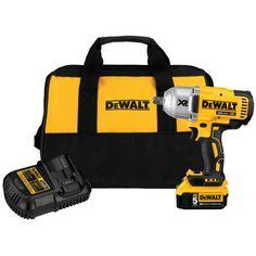 DEWALT-20V-MAX-Cordless-Li-Ion-1-2-034-Impact-Wrench-w-1-Battery-DCF899P1-New